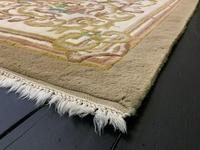 Superb Large 15x12ft Vintage Antique Indian Kayam Pure Woollen Thick Pile Rug (10 of 13)