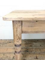 Rustic Pine Kitchen Table (4 of 10)