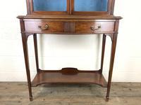 19th Century Glazed Mahogany Bookcase on Stand (2 of 10)