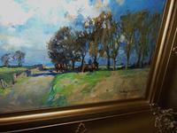 Rural Scene Oil on Board by W.B.Lamond (6 of 6)