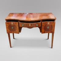 A Regency mahogany serpentine fronted sideboard (3 of 4)