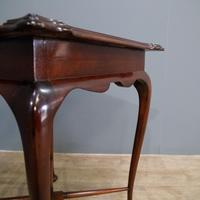 Edwardian Mahogany Occasional Table (5 of 7)