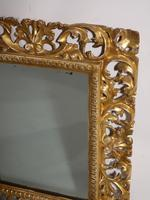 Small 18th Century Florentine Giltwood Mirror (2 of 3)