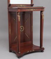 19th Century Mahogany Mirrored Consul Table (2 of 12)