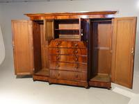 A Handsome Mid 19th Century Breakfront Wardrobe (3 of 3)