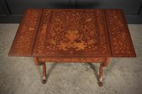 Dutch Marquetry Walnut Sofa Table (14 of 14)