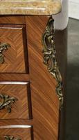 Quality French Marquetry Taller Chest of Drawers (11 of 15)