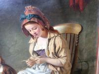 Original 19th Century Painting by W J Haynes (5 of 13)