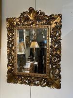 Florentine Carved Giltwood Mirror (5 of 5)