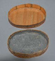 Late C18th French straw-work oval snuff-box (5 of 5)