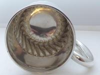 1908 Hallmarked Solid Silver 1/2 Pint Tankard Christening Mug 205g by W Hutton (6 of 10)