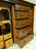 Set of Mahogany Drawers - 10 Large, 6 Small, 6 Small Trays (10 of 10)