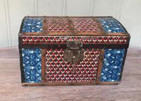 Colonial Dome Top Tin Casket (6 of 9)