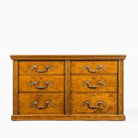Fine George IV Burr Oak Chest of Drawers in the manner of Morel and Seddon (3 of 9)