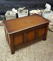 Quality Solid Oak R.E.H Kennedy Blanket Box (2 of 5)