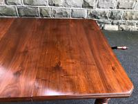 Antique Walnut Wind Out Extending Dining Table (8 of 13)
