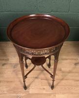 Fine Quality Edwardian Side or Lamp Table (4 of 10)