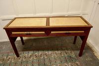 Art Deco Style Walnut & Maple Reception Desk (2 of 7)