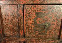 Fabulous Polychromed Tibetan Altar Cabinet (7 of 9)