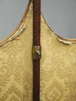 Pair of Late George III Mahogany Pole Screens (11 of 11)