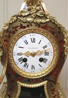 French Tortoiseshell & Brass inlay Mantel Clock (12 of 14)