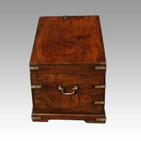 Victorian Small Brass Bound Campaign Chest (3 of 9)