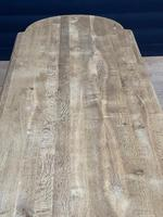 Huge French Bleached Oak Monastery Dining Table (7 of 30)