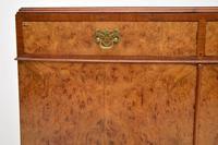 Antique Burr Walnut Two Door Cabinet (4 of 8)