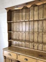 Large Victorian Antique Pine Dresser (7 of 17)