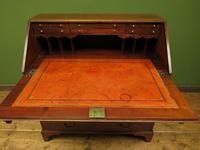 Antique George III Mahogany Writing Bureau Desk with Fall Front - Handsome Piece (14 of 16)