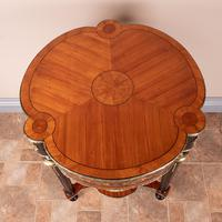 Fine Quality French Marquetry & Ormolu Mounted Occasional Table (20 of 24)