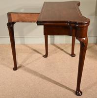 Early 18th Century Inlaid Pad Foot Card Table (9 of 9)