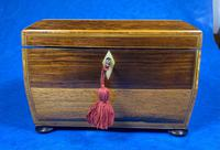Regency Rosewood Twin Section Tea Caddy (12 of 12)