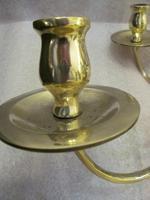 A Dutch Style 6 Light Brass Ball Chandelier (6 of 6)