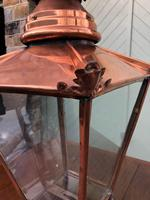 Antique Copper Glazed Lantern (4 of 8)