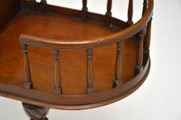 Antique Chippendale Style Mahogany Side Table (7 of 9)