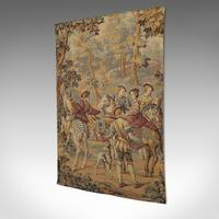 Antique Verdure Tapestry, French, Decorative Panel, Wall Covering, Victorian (12 of 12)