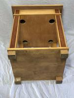 Art Deco Style 20th Century French Blonde Wood Side Table (6 of 13)