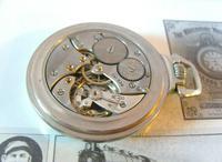 Antique Pocket Watch 1920s Winegartens 7 Jewel Railway Regulator Silver Nickel Case FWO (11 of 12)