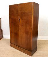 Compactum Oak Wardrobe Antique Vintage Gents Armoire (11 of 14)