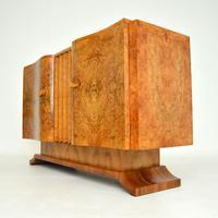 1930's Art Deco Burr Walnut Sideboard by Hille (9 of 12)