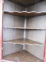 Flame Mahogany Formal Corner Cupboard 1780 splits into 2 (6 of 10)