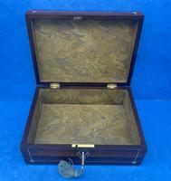 William IV Rosewood Box with Mother of Pearl Inlay (7 of 9)
