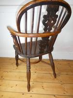 Early 19th Century Yew Windsor Chair (6 of 8)