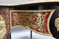 French Napoleon III Louis XV Style Boulle Writing or Centre Table (12 of 16)