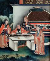 Good Early 20th Century Chinese Reverse Glass Painting (2 of 4)