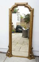 Full Height Victorian Giltwood Pier Mirror / Dressing Mirror (18 of 27)