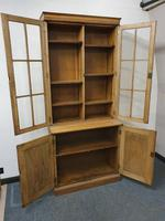 Oak Cupboard Bookcase (3 of 4)