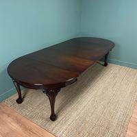 Edwardian Walnut Wind Out Extending Antique Dining Table (7 of 10)