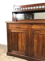 Antique Mahogany Sideboard with Mirror Back (3 of 13)